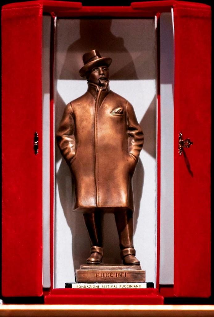 Statuetta del Premio Puccini