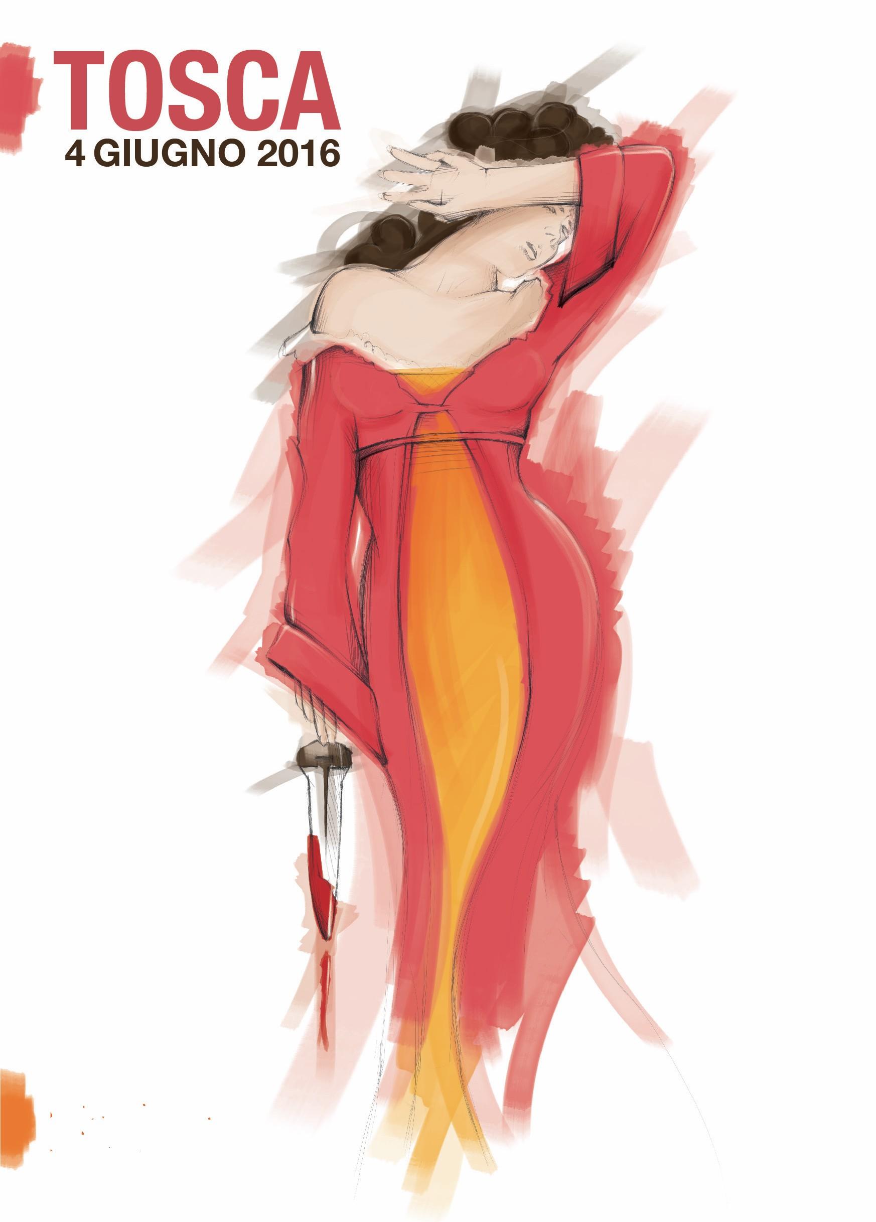 TOSCA disegno di Daniele Andreotti, designer di Demia