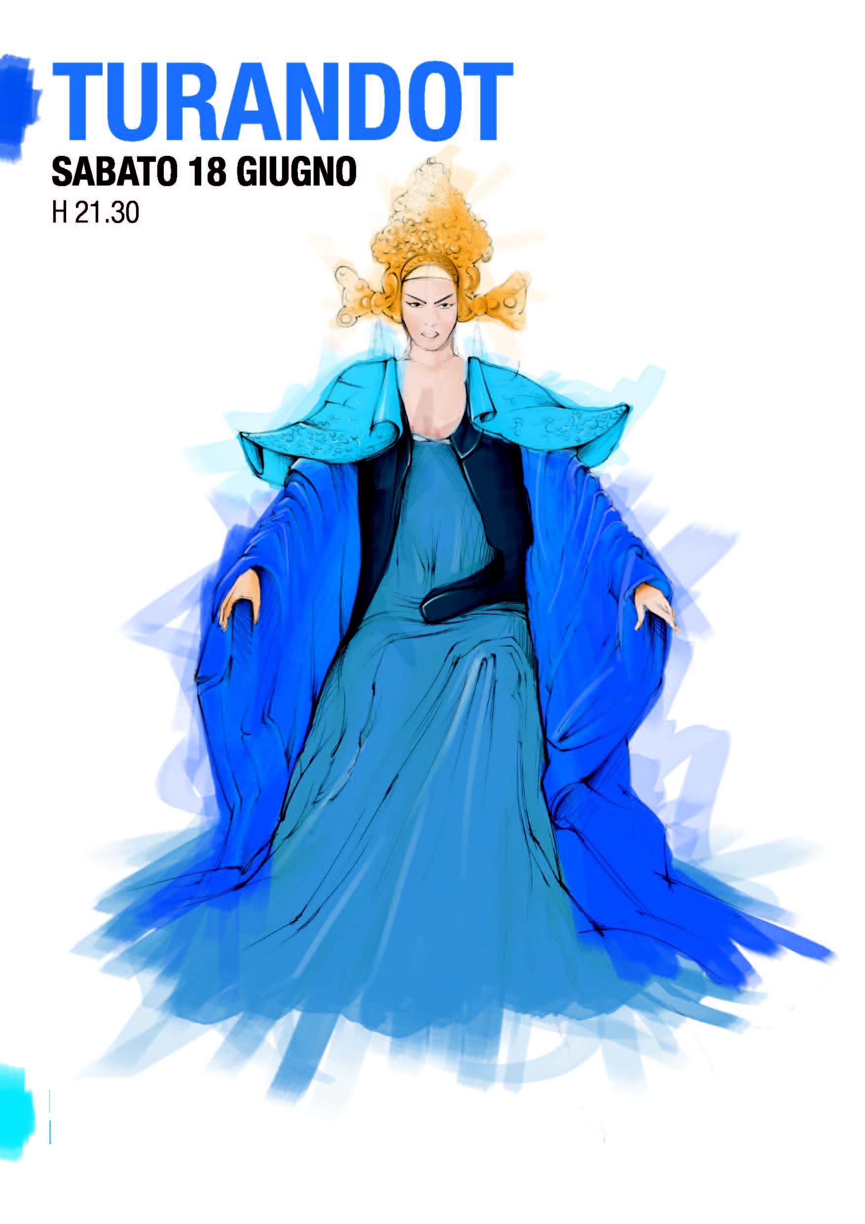 Turandot, disegno di Daniele Andreotti, designer di Demia