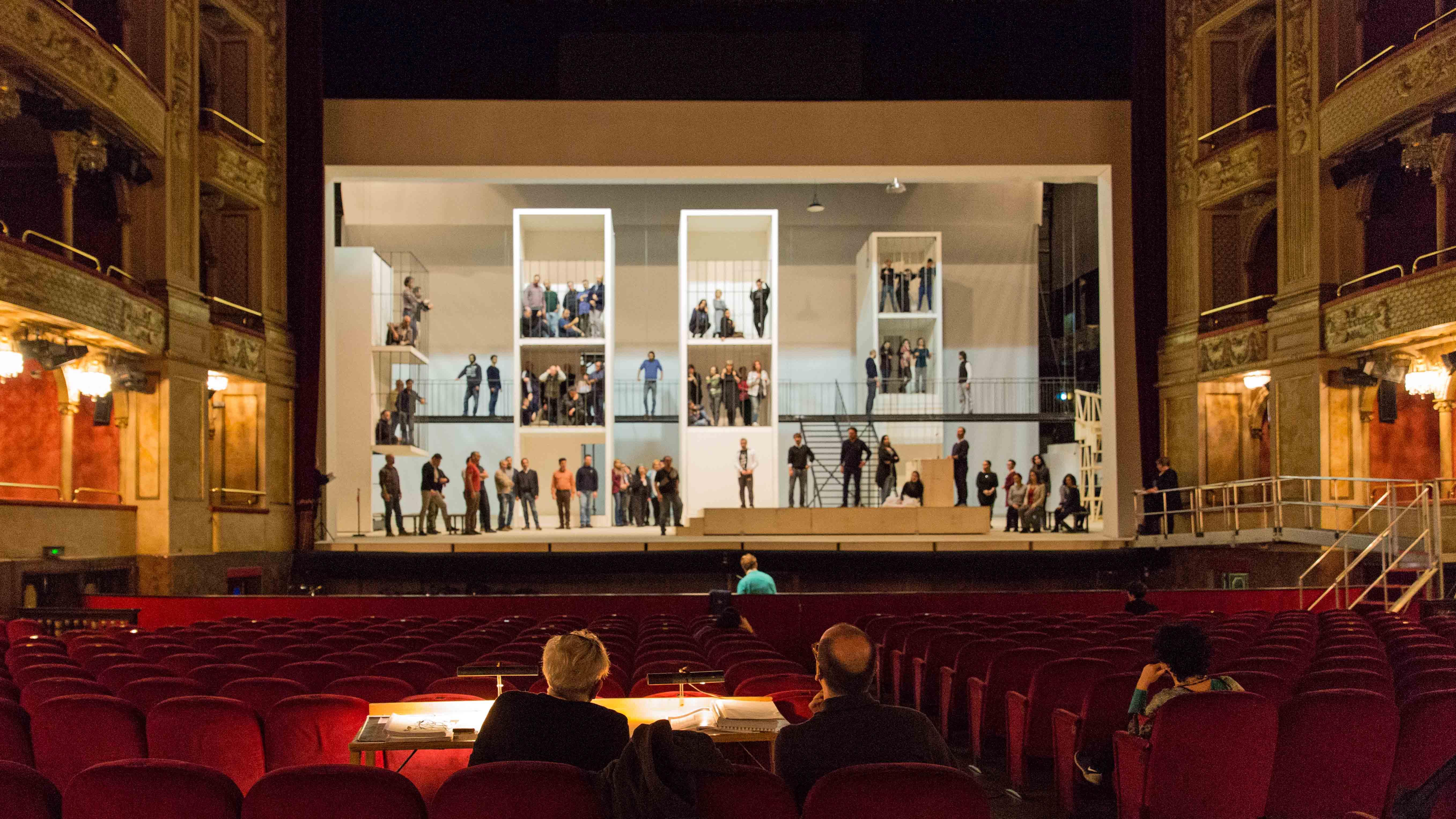 Un momento delle prove della Lucia di Lammermoor_®Yasuko Kageyama-Opera di Roma 2014-15_6217