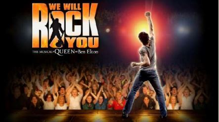 WE WILL ROCK YOU, THE MUSICAL, FIRMATO DA QUEEN E BEN ELTON. NUOVO ALLESTIMENTO PER BARLEY ARTS