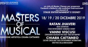 STAP BRANCACCIO E MDM ACADEMY: MASTER CLASS INTERNAZIONALI PER PROFESSIONISTI DEL MUSICAL