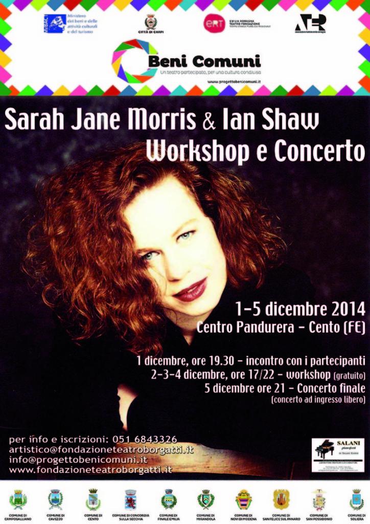 Workshop Sarah Jane Morris