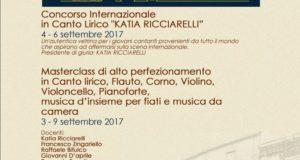 """CONCORSO INTERNAZIONALE DI CANTO LIRICO """"KATIA RICCIARELLI"""""""
