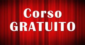 CORSO GRATUITO DI ALTA FORMAZIONE PER PERFOMER DI MUSICAL THEATER
