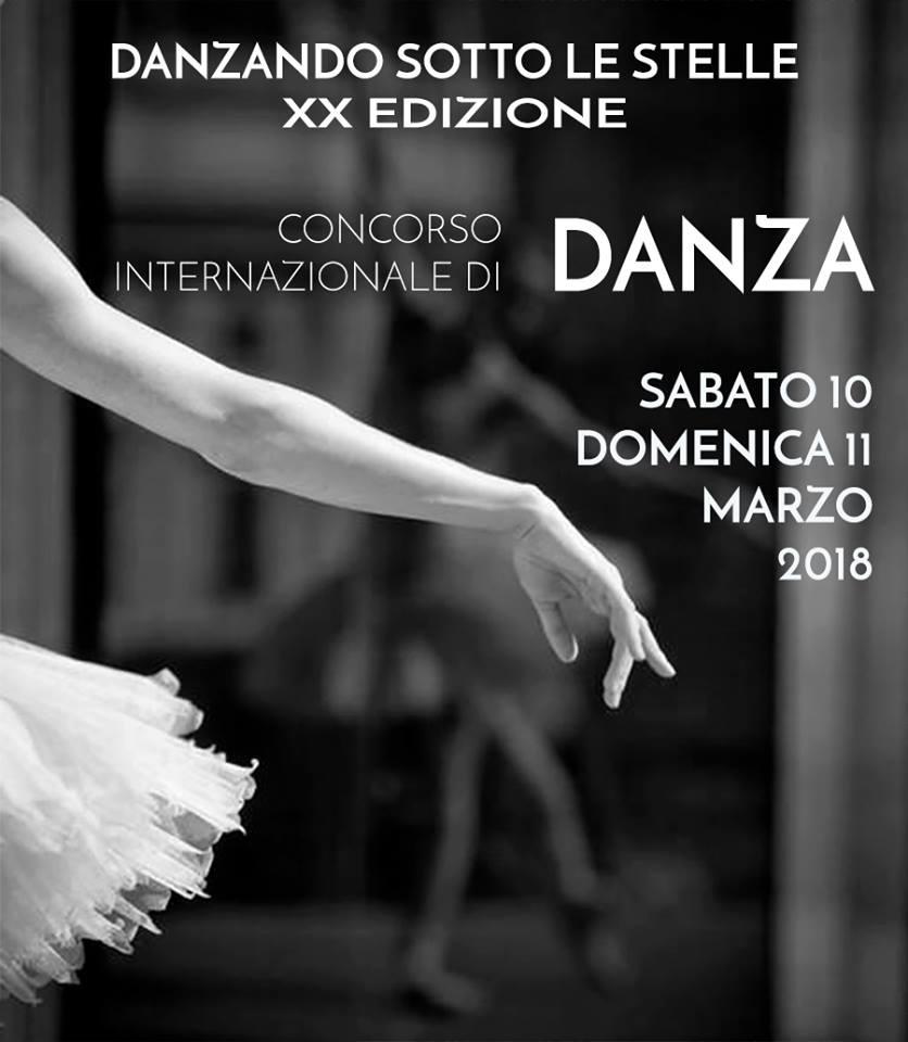 DANZANDO SOTTO LE STELLE 2018