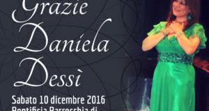 """""""GRAZIE DANIELA DESSÌ"""", MESSA E CONCERTO PRESSO LA PONTIFICIA PARROCCHIA DI SANT'ANNA"""