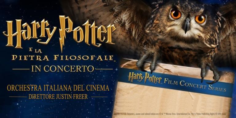 """""""HARRY POTTER E LA PIETRA FILOSOFALE"""": PROIEZIONE CON ORCHESTRA DAL VIVO"""