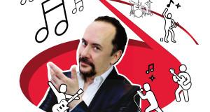 """TEATRO GOLDEN: MARIZIO CASAGRANDE IN """"… E LA MUSICA MI GIRA INTORNO"""""""