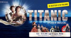 """""""TITANIC – IL MUSICAL"""" SUL LAGO DI LUGANO"""