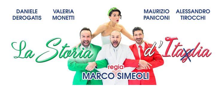 """REVIEW – """"LA STORIA D'ITAGLIA"""" CON DEROGATIS, MONETTI, PANICONI E TIROCCHI; REGIA DI SIMEOLI"""