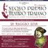 PREMIO TEATRO TRAIANO – FESTIVAL DI CORTI E MONOLOGHI TEATRALI