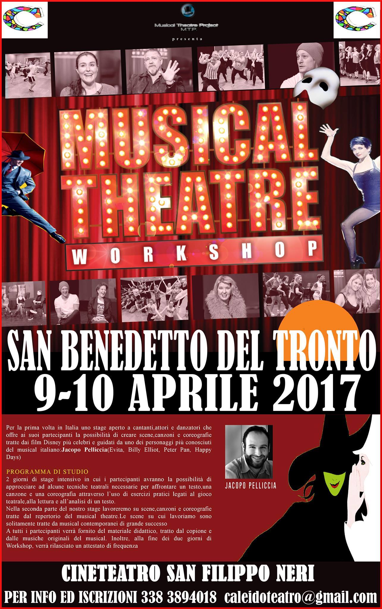 SING THE CHARACTER: WORKSHOP CON JACOPO PELLICCIA