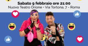 """AL TEATRO ORIONE GLI ARTETECA IN """"CABARET AI TEMPI DI FACEBOOK"""""""