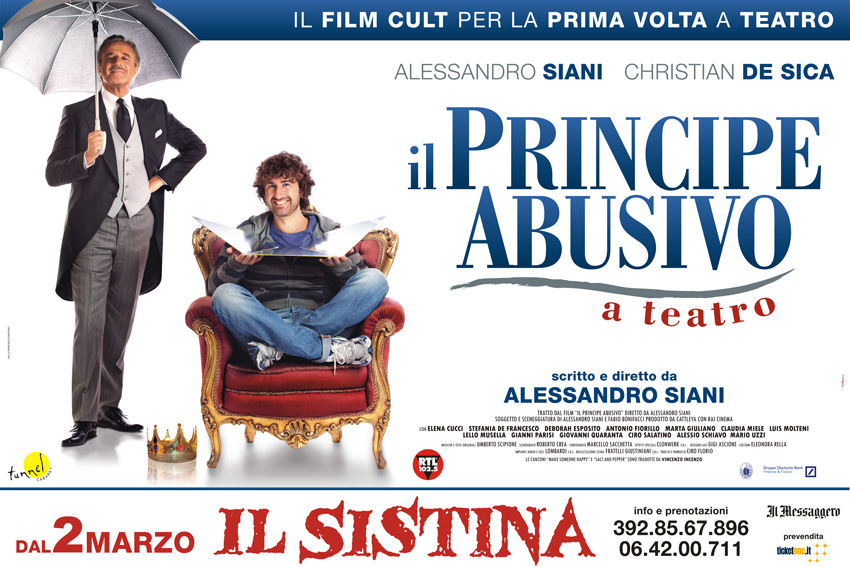 Alessandro Siani Il principe abusivo a teatro