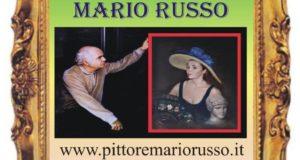 """""""RITRATTI"""",  RETROSPETTIVA DEL PITTORE MARIO RUSSO DEDICATA AI GRANDI DEL CINEMA E DEL TEATRO"""