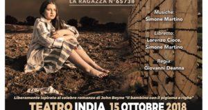 LO SGUARDO OLTRE IL FANGO – DRAMMA MUSICALE DI SIMONE MARTINO E LORENZO CIOCE, AL TEATRO INDIA