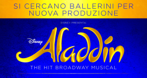 CASTING – ALADDIN (WEST END)