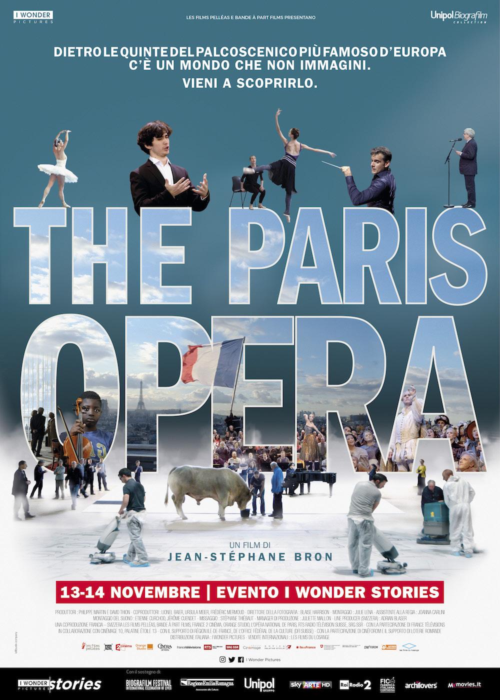 THE PARIS OPERA – IL DOCU-FILM DIETRO LE QUINTE DELL'OPÉRA DI PARIGI