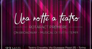 UNA NOTTE A TEATRO – I MUSICAL DI BROADWAY PER L'OSPEDALE REGINA MARGHERITA